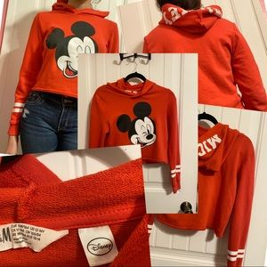 Red Mickey Mouse Hoodie 12/14